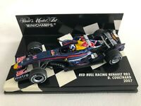 2007 David Coulthard Red Bull Racing RB3Minichamps 1:43 Scale (400 070014)