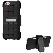 Silicone/Gel/Rubber Mobile Phone Clip Cases with Kickstand