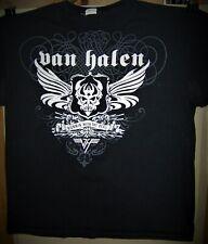 Van Halen Runnin With The Devil Pre Worn T-Shirt Large Eddie Van Halen Dlr Cool