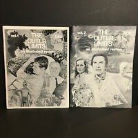 VINTAGE OUTER LIMITS AN ILLUSTRATED REVIEW Fan Magazine Zine Set RARE SCI-FI HTF