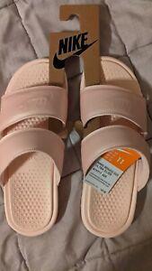 Nike WMNS Benassi Duo Ultra Slide [819717-605] Women Sandals Slides Echo Pink 11
