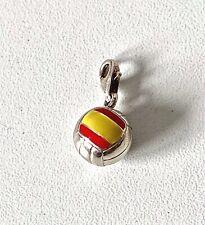 Genuine THOMAS SABO Sterling Silver & Enamel SPAIN Football Charm