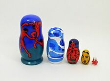5 pcs. Russian Nesting Doll after Henri Matisse #3625