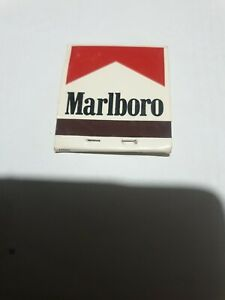 Full MARLBORO CIGARETTES  MATCHES MATCH BOX ADVERTISING Hotels Concorde