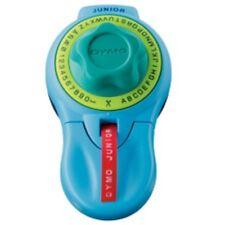 Dymo Universal Prägegerät Junior, Prägeband, blau, Kinder Beschriftungsgerät 3D