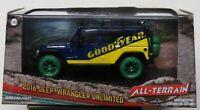Greenlight All Terrain I:43 2016 Jeep Wrangler Unlimited Goodyear Green Machine
