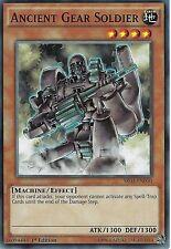YU-GI-OH CARD: ANCIENT GEAR SOLDIER - SR03-EN010 - 1ST EDITION