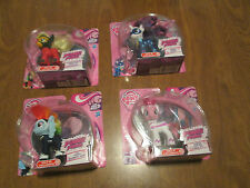 MY LITTLE PONY POWER PONIES set of 4 Rarity Pinkie Pie Rainbow Dash COMPLETE
