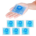 ICEWRAPS 3x3 GEL ICE PACKS FOR KIDS FIRST AID, REUSABLE COLD PACK, 6 PACK - NEW