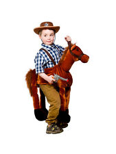 Child Ride On Step In Nativity Horse Outfit Fancy Dress Costume Cowboy Kids Boys