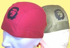 CUBA: BANDANA PIRATE ROUGE ou KAKI, CHE GUEVARA NOIR *