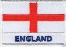 ECUSSON BRODE PATCHE PATCH THERMOCOLLANT DRAPEAU ANGLETERRE ENGLAND DIM. 7 X 5CM