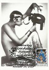 Josephine Baker Black Heritage Film Dance Usa Maximum Card, Scott 4338