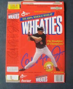 Cal Ripken, Jr--Baltimore Orioles--1995 Wheaties Cereal Box