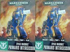 Warhammer 40000 Easy to Build 40K SPACE MARINES, 6x PRIMARIS INTERCESSORS