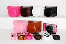 Leather+pu Camera Case Bag for Sony A5000 A5100  NEX3N (16-50) Lens