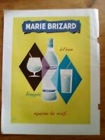 PUBLICITE ANCIENNE PUB ADVERT CLIPPING MARIE BRIZARD