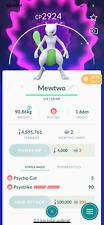 Pokemon Shiny Mewtwo -  Acc mini - Trade - Describe