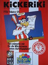 Programm 1996/97 SC Fortuna Köln - FSV Mainz
