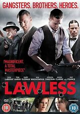 LAWLESS (Tom Hardy) - DVD - REGION 2 UK