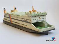 Modellschiff Fährschiff MS Nordfriesland W.D.R. 1:550 Collector Modell