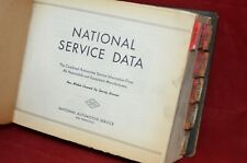 Vintage 1954 National Service Data Part Numbers Manual Guide Repair Book 1946-54