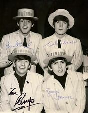The Beatles ++ Autogramm ++ Autograph + John Lennon + Paul McCartney
