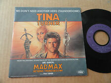 "DISQUE 45T CHANSON DU FILM  "" MAD MAX BEYOND THUNDERDOME "" PAR TINA TURNER"