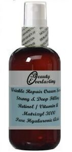 3% Retinol Vitamin A Cream Serum with Matrixyl 3000,Pure Hyaluronic Acid 1.2oz
