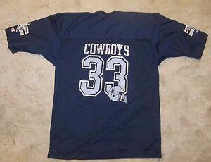 VINTAGE NFL DALLAS COWBOYS  CHAMPION FOOTBALL JERSEY ADULT SIZE XL