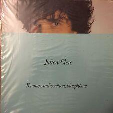 Julien Clerc – Femmes, Indiscreción, Blasfemia -LP- Virgin – 201 916