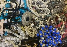 Vintage~Now Jewelry Lot Over 16 Pounds Wear Repair Craft Harvest
