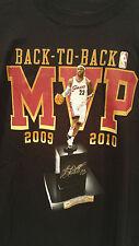 LeBron James MVP Cleveland Cavaliers NBA Championship Graphic Shirt Retro Sz S