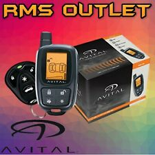 Avital 3305L 2-WAY LCD Keyless Entry Vehicle Security System + 2 Remote controls