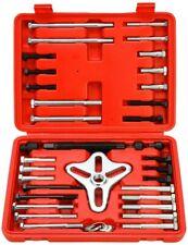 46pc Volante Extractor armónica Equilibrador de Engranaje Polea yugo de acero de herramienta Arandela
