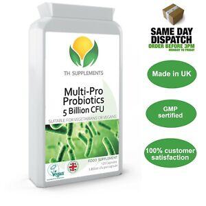 Probiotics Complete 5 Billion CFU 120 Capsules food supplement
