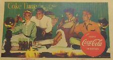 Lot (27) 50's-60's Coca-Cola Parchment Book Covers Coke Ad