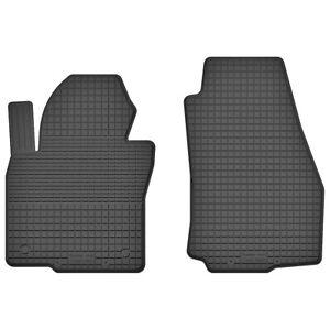 Velours schwarz Fußmatten passend für MITSUBISHI PAJERO 2 V20 90-00