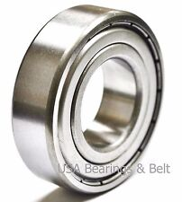 (2 Pcs) 6202 ZZ, 6202 Z Ball Bearings15 x 35 x 11 6202 ZZ/C3
