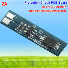 1S 2A 3.2V 18650 LiFePo4 LiFe Battery Charger BMS PCB Protection Circuit Board