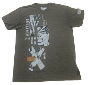 """Vintage FOX Racing FX T-Shirt M Heritage Motocross Forged  """"created to destroy"""""""