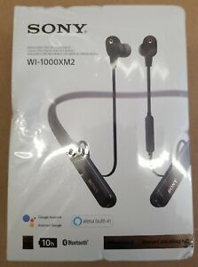 Sony - WI-1000XM2 Wireless Noise-Canceling In-Ear Headphones - Black New Sealed