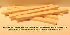 LUMBER LOADS-4x8-FOR 50-60' FLAT/CENTERBEAM/BULKHEAD CARS-N SCALE: FNL-1004