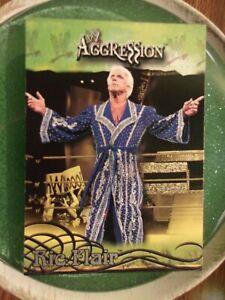 Ric Flair - (2003) - Fleer WWE Aggression #26 - WCW - TNA - NWA - WCCW