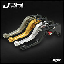 JPR ADJUSTABLE SHORT BRAKE+CLUTCH LEVER TRIUMPH SCRAMBLER 2006-2015 - JPR-1433