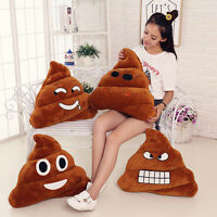 Cushion Emoji Pillow Gift Cute Poop Stuffed Toy Plush Doll Christmas Present HOT