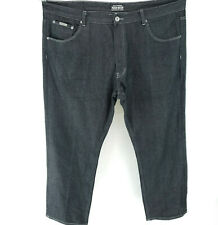 PARISH NATION 48x32 Black Jeans Modern Straight Leg Fit Big Tall MINT!