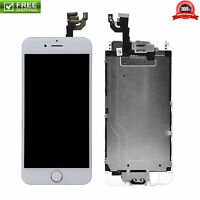 White LCD Touch Screen Display Digitizer Assembly Replacement for iPhone 6 Plus