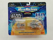 Star Wars Space Micro Machines X-Ray Fleet Collection I TIE & A - WING Fighter