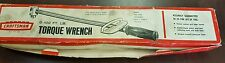 """Craftsman 1/2 """" Torque Wrench 0-100 ft lbs"""